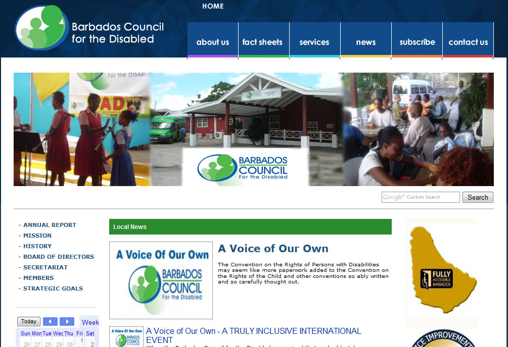Barbados Council for the Disabled