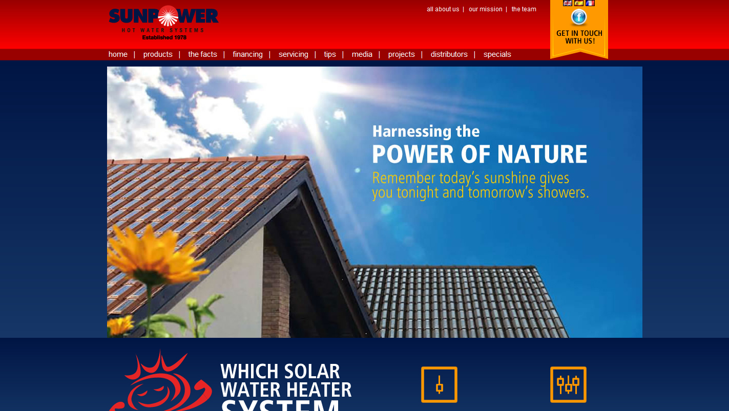 Sunpower Hot Water Systemes