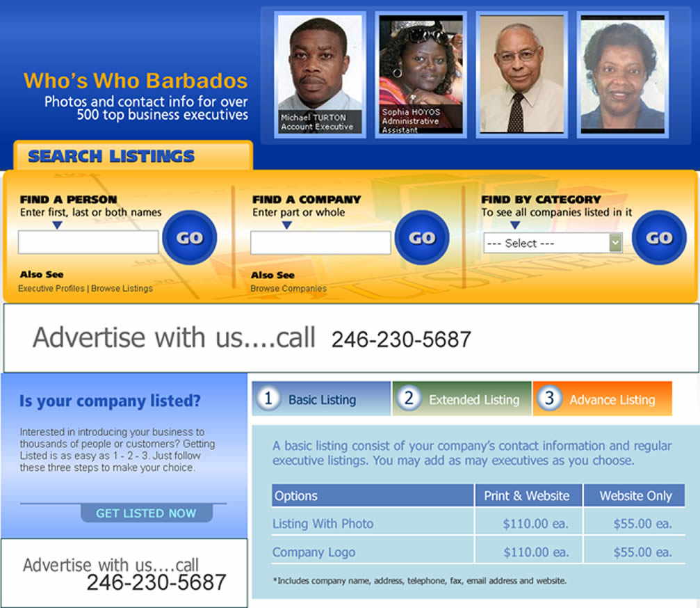 Who's Who in Barbados Business